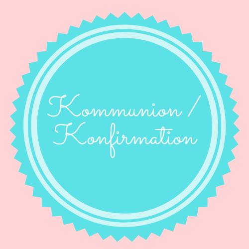 Kommunion, Konfirmation Ideen für die perfekte Torte