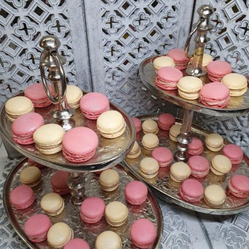 Macarons rosa creme konditorei kartenberg