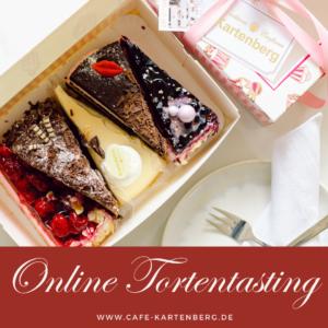 Online Torten Tasting Konditorei Kartenberg